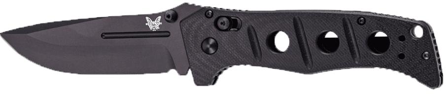 Benchmade - Adamas 275, Plain Drop-Point Tactical Knife