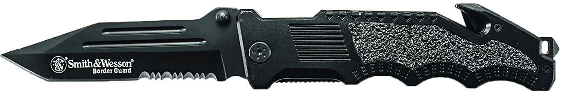 Smith & Wesson Border Guard SWBG2TS Liner Lock Folding Knife