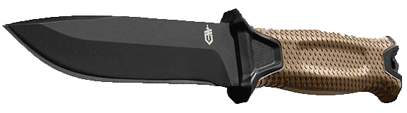 Gerber StrongArm Fixed Blade Knife, Fine Edge Hunting Knife