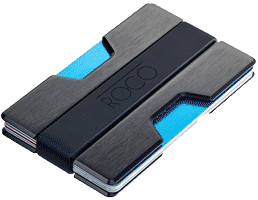 ROCO Minimalist Aluminum Slim Wallet RFID Blocking Wallet large image