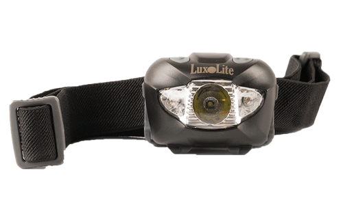 Luxolite LED headlamp with red light
