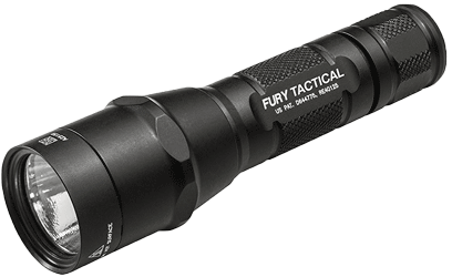 SureFire P2X Fury Tactical Single-Output LED Flashlight