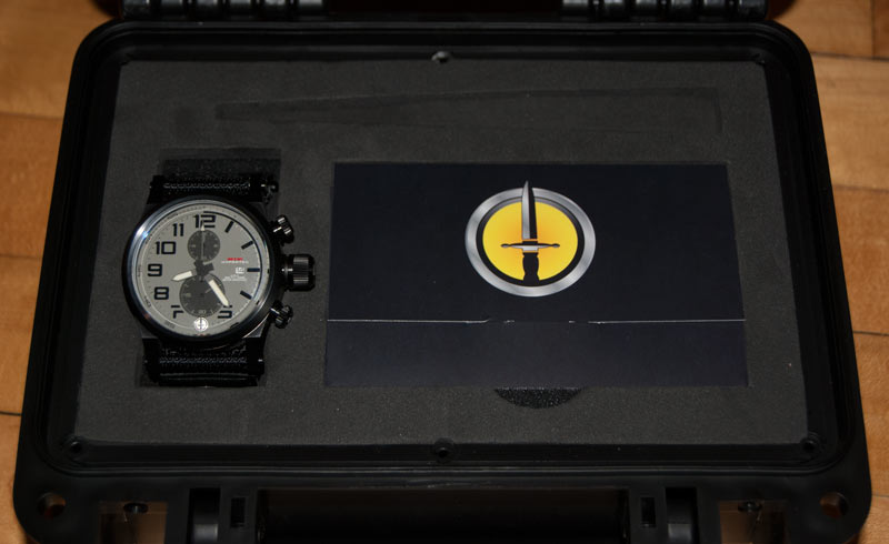 Hypertec Chrono 2 watch in the box