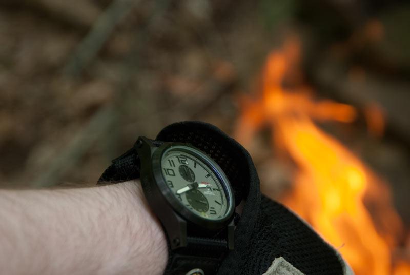 Wearing my MTM Hypertec Chrono 2 watch