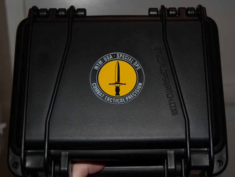 mtm hypertec chrono 2 watch in a box
