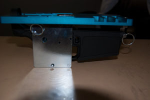 AR-15 Router Jig side view