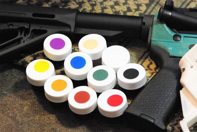 AR15 Mold Color Palette