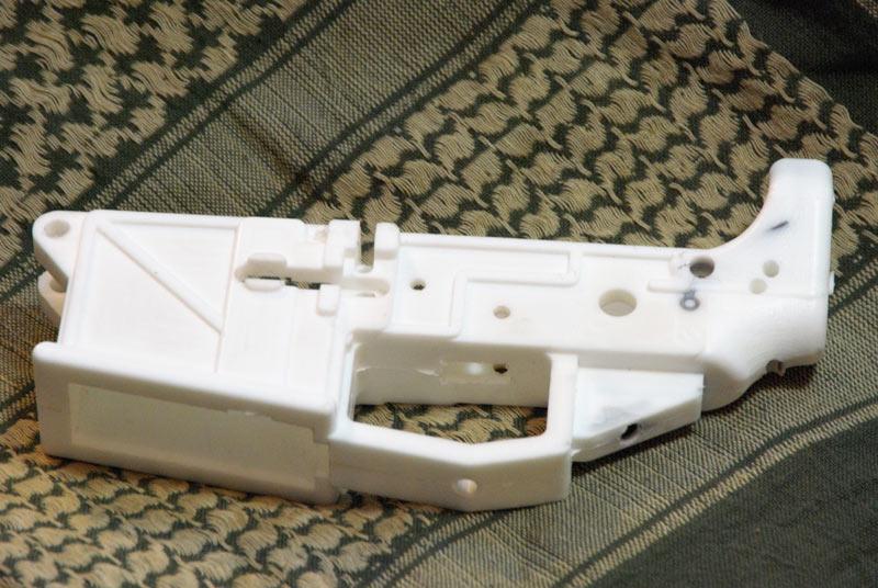ar 15 white lower receiver