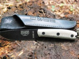 ESEE 4HM Fixed Blade Survival Knife