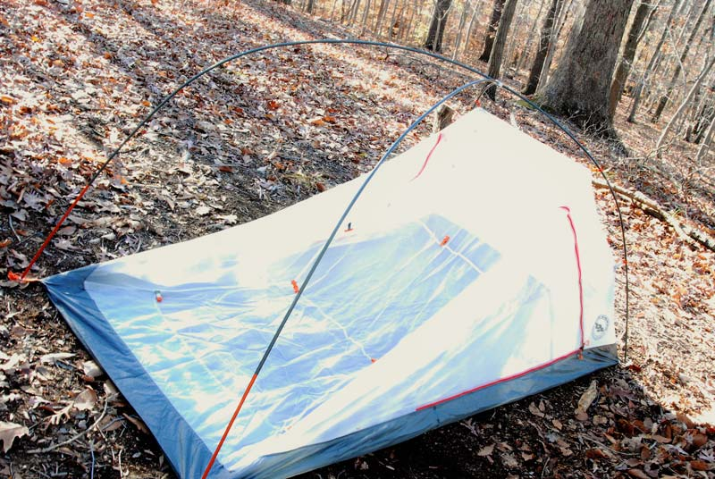 review of Big Agnes Copper Spur HV UL 2 mtnGo tent