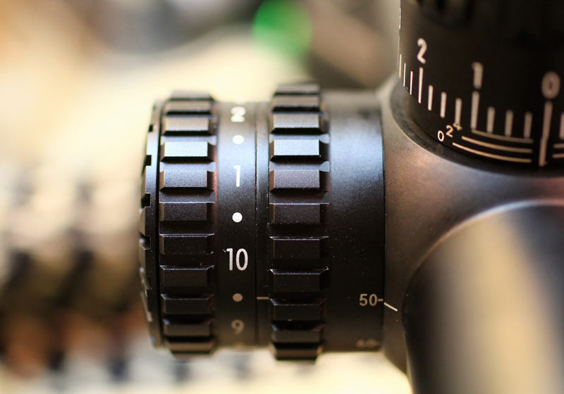 X1000 Nikon Scope close up